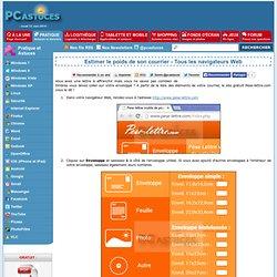 Estimer le poids de son courrier - Tous les navigateurs Web