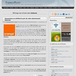 Astuces | EspaceRezo - Part 4
