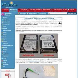 Fabriquer un disque dur externe portable