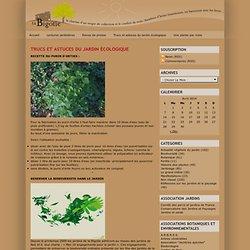 - Trucs et astuces du jardin écologique