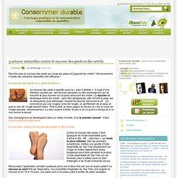 3 astuces naturelles contre la mycose des pieds et des orteils Consommer Durable