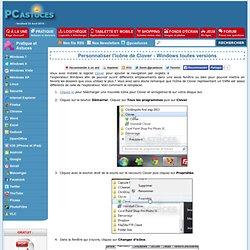 Personnaliser l'icône de Clover - Windows toutes versions