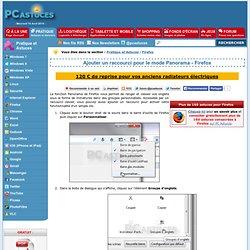 Ajouter un raccourci pour le mode Panorama - Firefox
