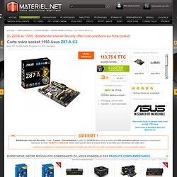 Asus Z87-A C2 - Carte mère socket 1150