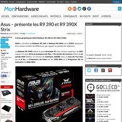 Asus -dévoile les R9 390 et R9 390X Strix