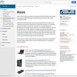 Asus (informations sur la société)