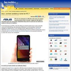 Asus : prochain candidat au rachat de HTC ?
