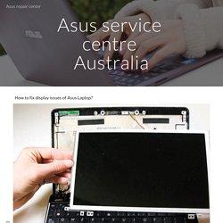 Asus repair center