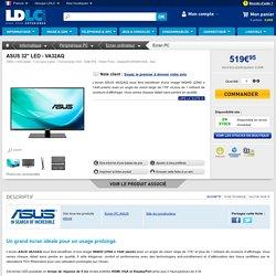 """ASUS 32"""" LED - VA32AQ (VA32AQ) : achat / vente Ecran PC sur ldlc.com"""