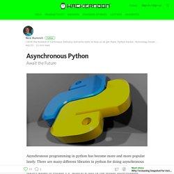 Asynchronous Python