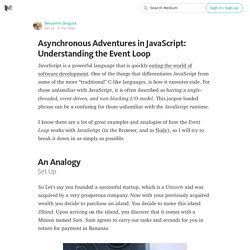 Asynchronous Adventures in JavaScript: Understanding the Event Loop