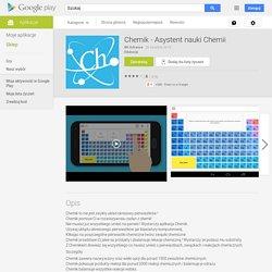 Chemik - Asystent nauki Chemii – Aplikacje Android w Google Play