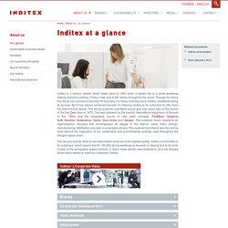 At a glance - inditex.com