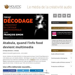 Atabula, quand l'info food devient multimedia