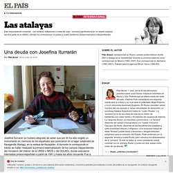 Las atalayas por Pilar Bonet