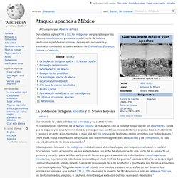 Ataques apaches a México
