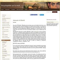 Ataraxie et Liberté