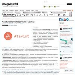 Atavist: piattaforma free per il Web Publishing