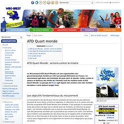ATD Quart monde - Wiki-Brest