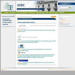 ATEC-ITS - Bases bibliographiques 2