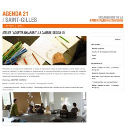 "Atelier ""adopter un arbre"", La Cambre, design (1) : Agenda 21 Saint-Gilles"