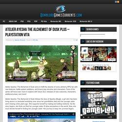 Atelier Ayesha The Alchemist of Dusk Plus - PlayStation Vita