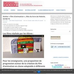 Atelier «film d'animation», fête du livre de Palente, 03/06/16