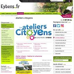 atelier citoyen - Ville d'Eybens