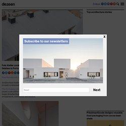 Fala Atelier uses concrete finishes for Porto micro-homes