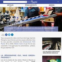Atelier Coton : l'atelier de sérigraphie et de tote bags à Lyon