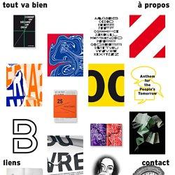 Tout va bien - Atelier de design graphique à Dijon
