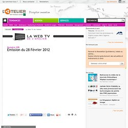 L'atelier Web TV V1.0