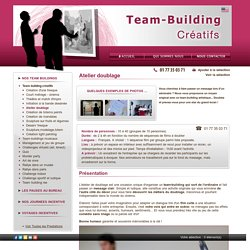 Atelier doublage team Building