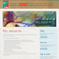L'Atelier Bleu Ecarlate - Expression libre