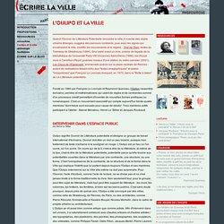 Ecrire la ville : un atelier d'écriture avec François Bon