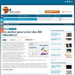 Un atelier pour créer des BD éducatives
