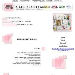 ATELIER SAINT FARGEAU: Cours de dessin peinture à Paris d'après modèle vivant et nature morte