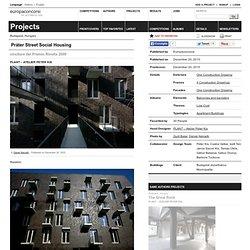 PLANT – Atelier Peter Kis — Práter Street Social Housing