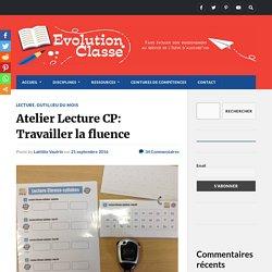 Atelier Lecture CP: Travailler la fluence