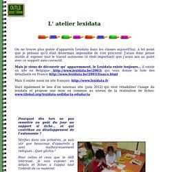 Atelier Lexidata