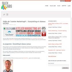 Vidéo de l'atelier Marketing#1 : Storytelling et réseaux sociaux