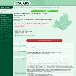 OSCARS - 2012 - Atelier nutrition à l'épicerie sociale du CCAS - L'atelier de mai