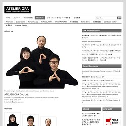 Atelier OPA » About us