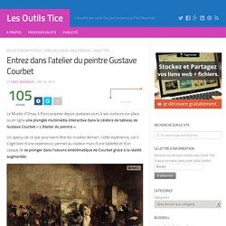 Entrez dans l'atelier du peintre Gustave Courbet