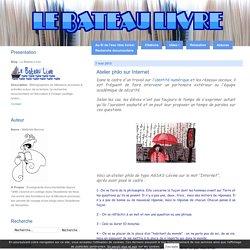 Atelier philo sur Internet