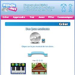 L'atelier de musique de PtitClic : des jeux musicaux pour les enfants