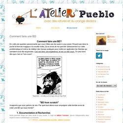 Blog BD: Comment faire une BD