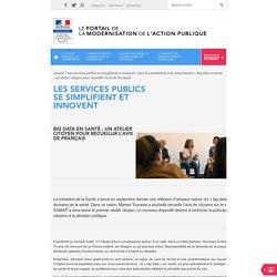 Big data en santé : un atelier citoyen pour recueillir l'avis de Français