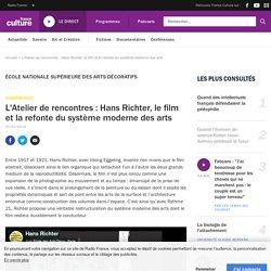 L'Atelier de rencontres : Hans Richter, le film et la refonte du système moderne des arts