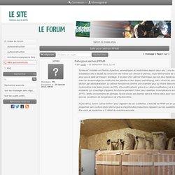 Forum L'Atelier Paysan - Salle pour séchoir PPAM : Bâtis autoconstruits